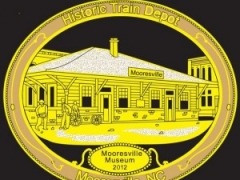 2012 Christmas Ornament of the Moores Train Depot